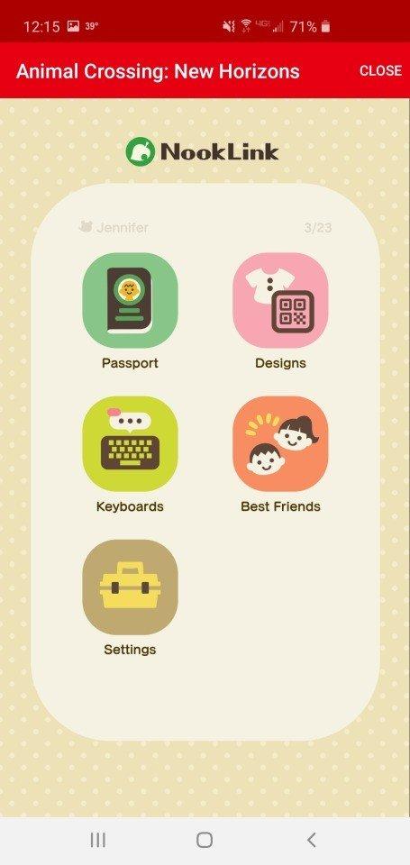 Applis Nintendo Online Nook Link Apps