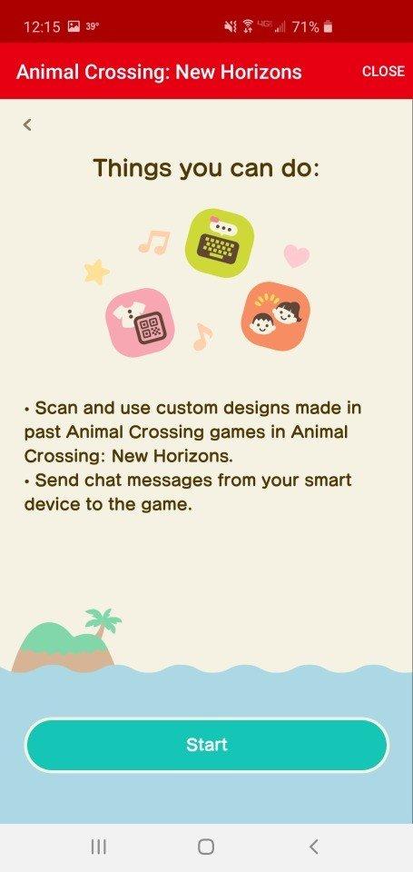 Ce que vous pouvez faire sur le lien de l'application en ligne Nintendo