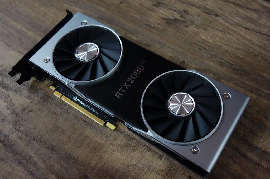 Meilleure carte graphique Nvidia RTX 2080 Ti