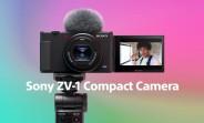 Sony lance un appareil photo compact ZV-1 pour les créateurs de contenu et les vloggers