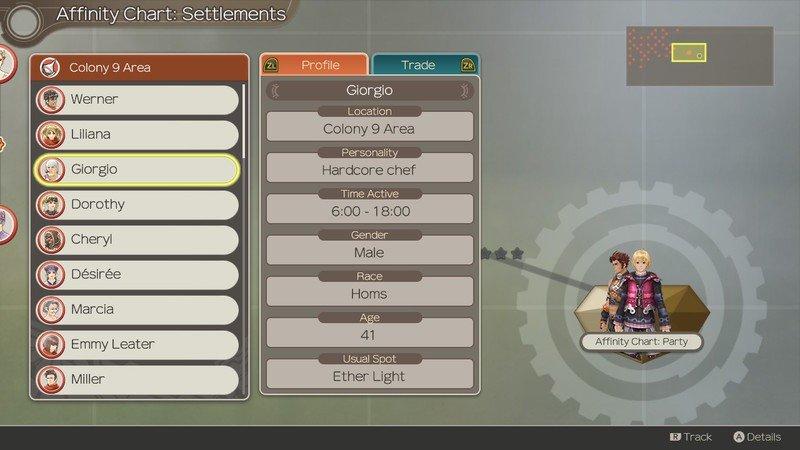 Xenoblade Chronicles Affinity Colony 9 Npc Profil