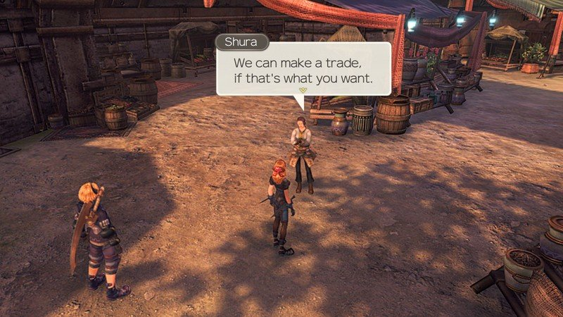 Xenoblade Chronicles Affinity Make Trade