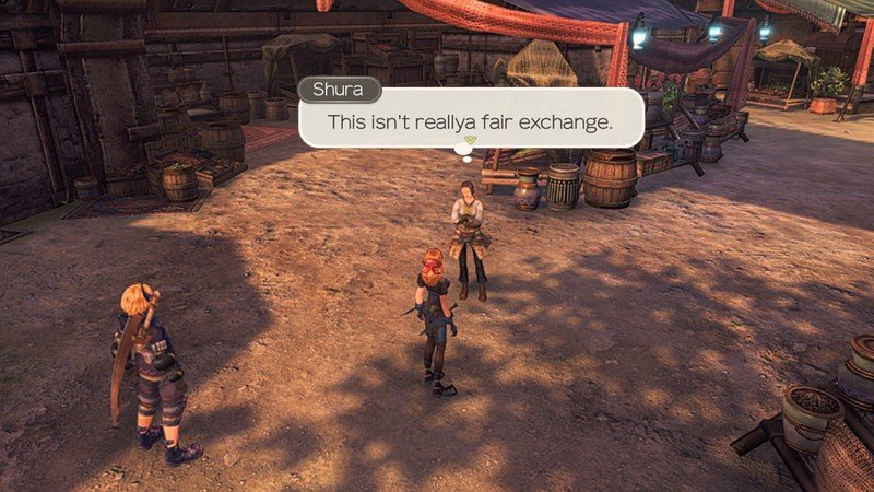 Xenoblade Chronicles Affinity Trade Overpay