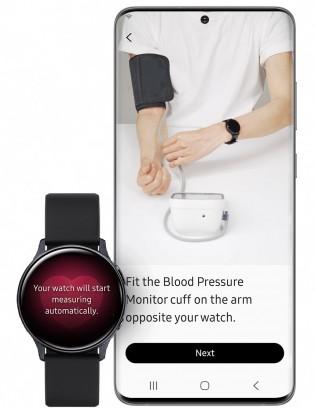 Surveillance de la pression artérielle avec l'application Samsung Health Monitor