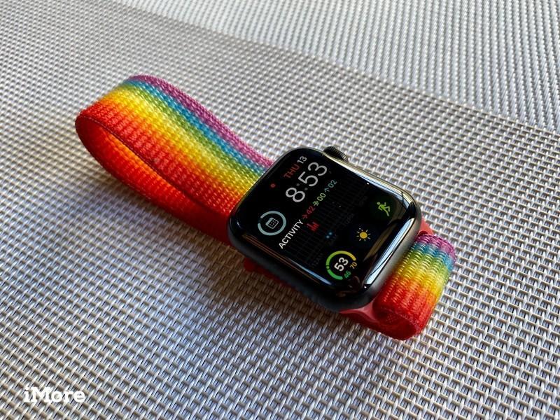Apple Watch Series 5 Black Titanium Hero