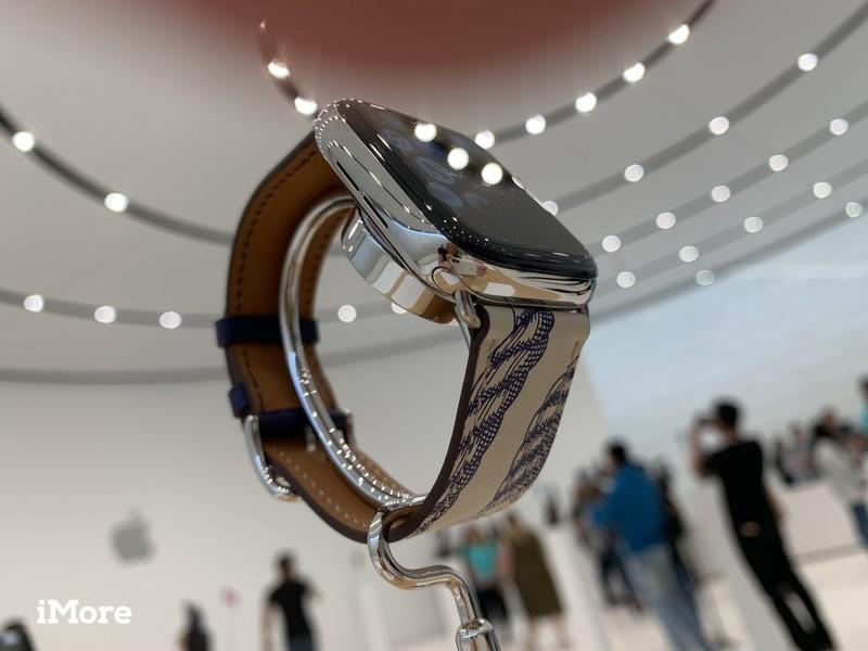 Apple Watch Hermes en acier inoxydable