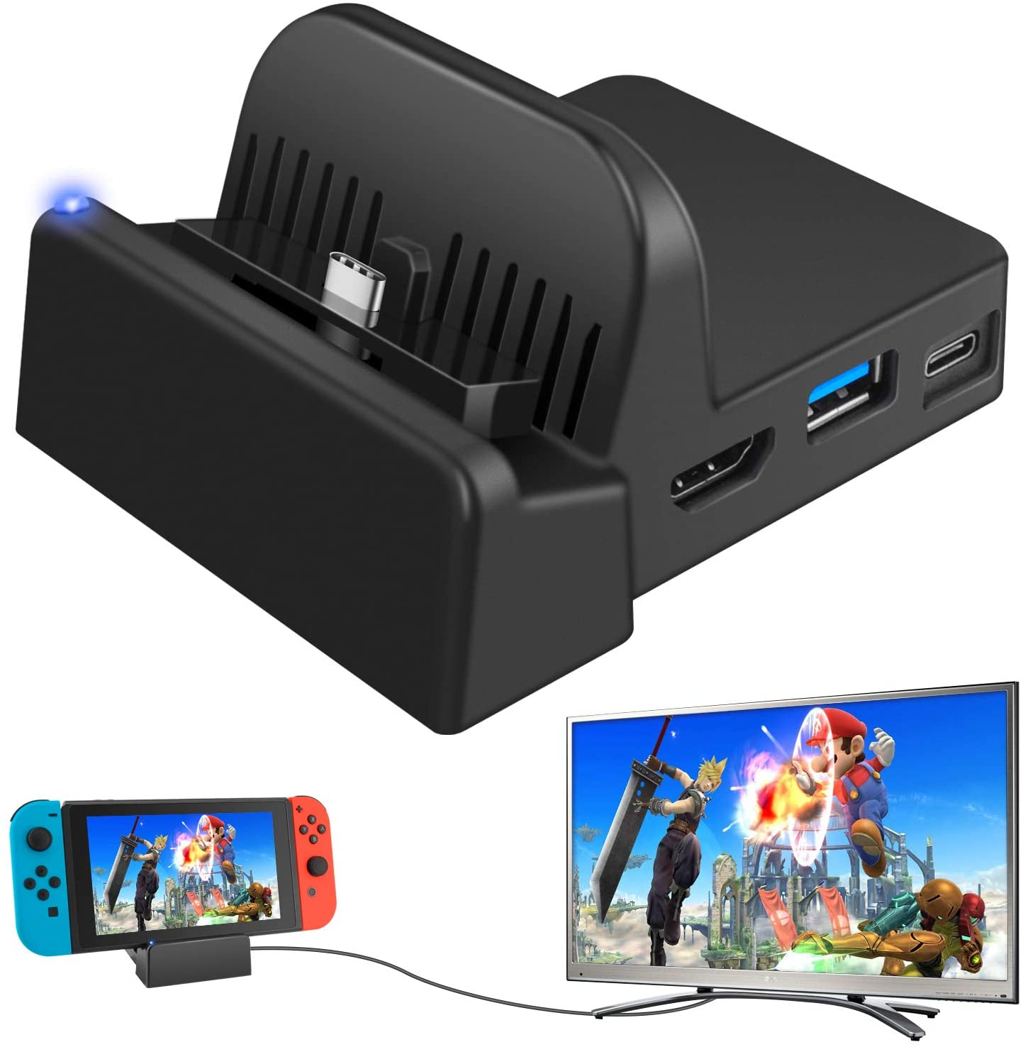Station d'accueil Nintendo Switch de Ponkor
