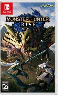 Art de la boîte standard Monster Hunter Rise