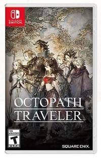 Art de la boîte Octopathe Traveller