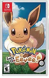 Pokemon Let's Go, couvercle de la boîte Eevee