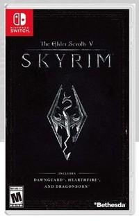 Art de la boîte Skyrim