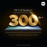 Le duo Mi 11X a vendu des téléphones d'une valeur de plus de 3 milliards de yens en Inde
