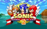 Écran titre de Sonic Robo Blast 2