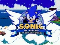 Sonic après l'écran titre de la suite