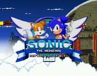 Écran titre de Sonic avant la suite