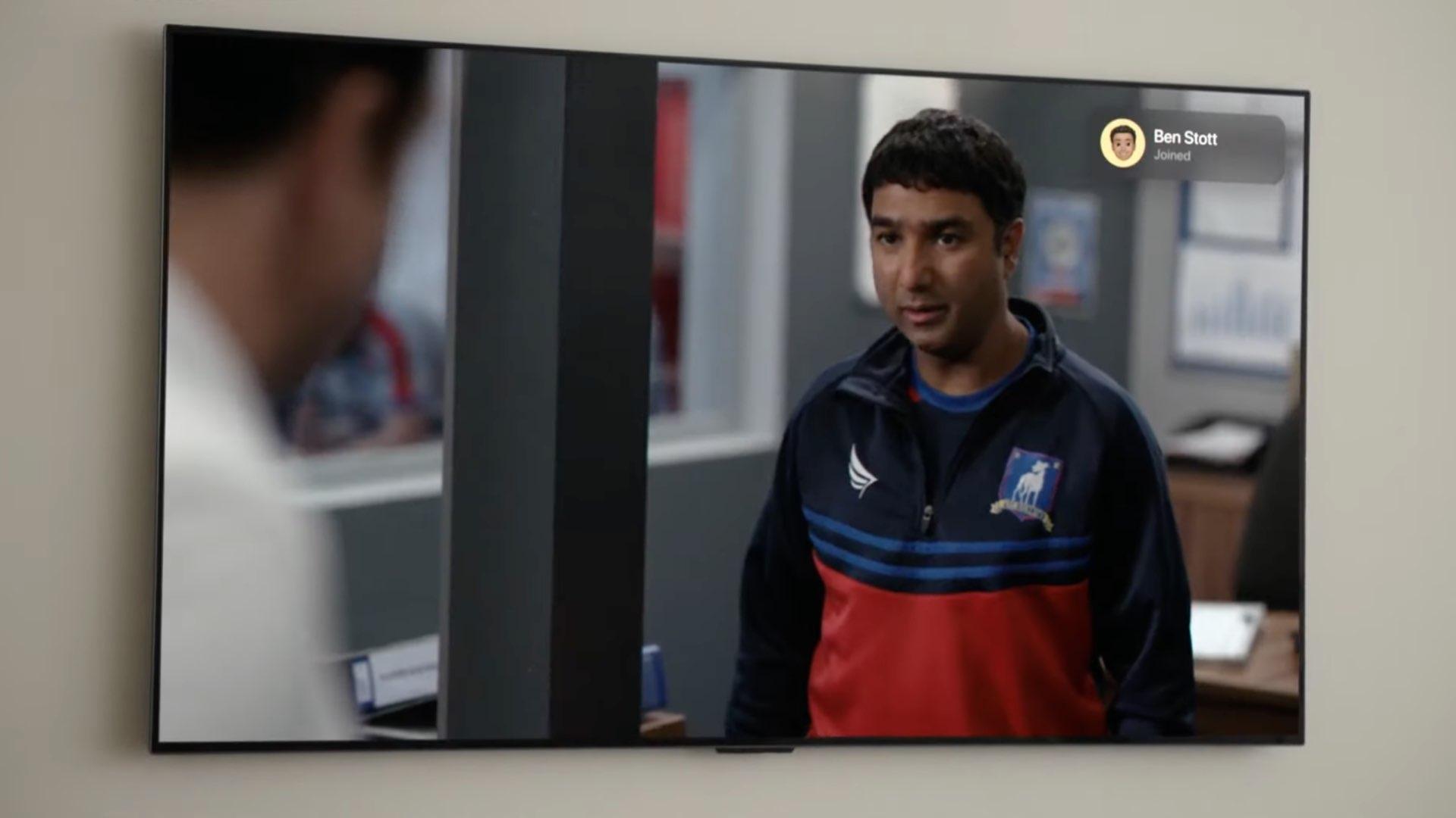 Une image montrant l'application Apple TV avec