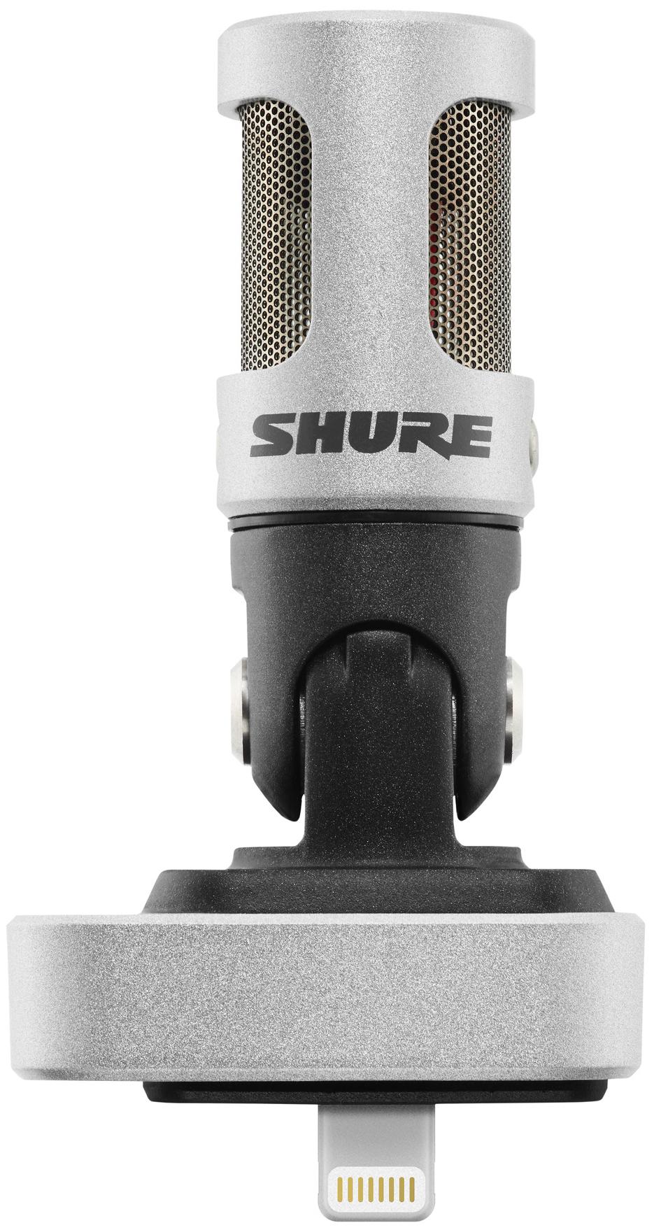 Microphone à condensateur stéréo numérique Shure Motiv